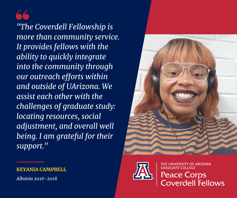 Photo of Coverdell Fellow Keyania Campbell