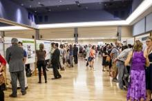 Photograph of UROC Poster Session