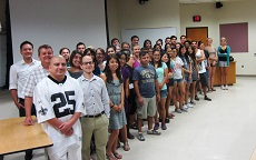 English 340 students, summer 2013